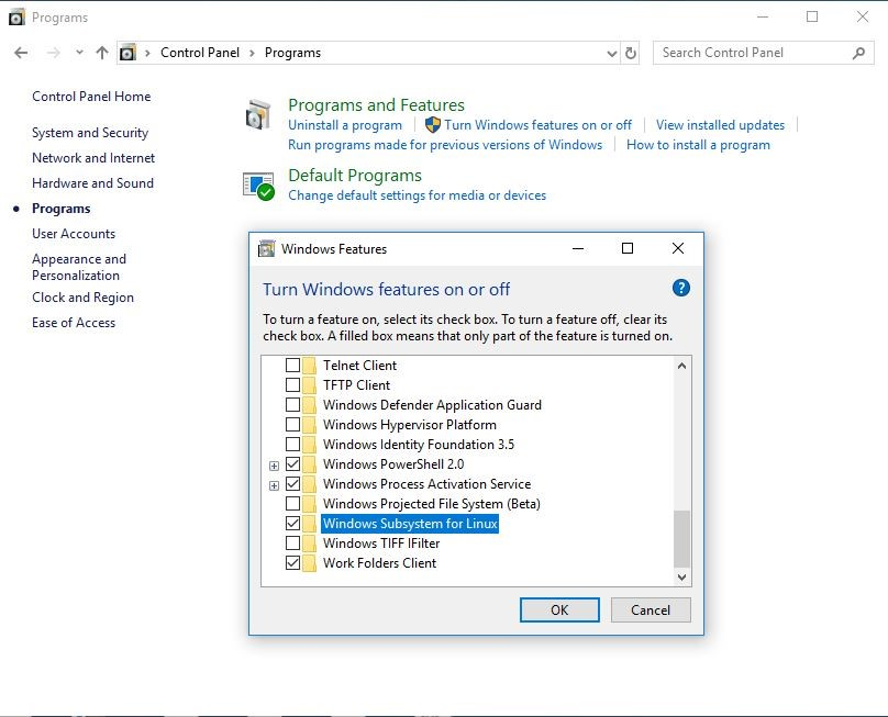 Installing Linux on Windows 10 - Bizznerd