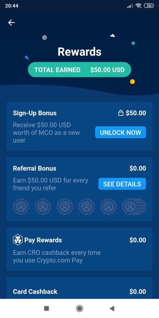 Crypto.com Rewards